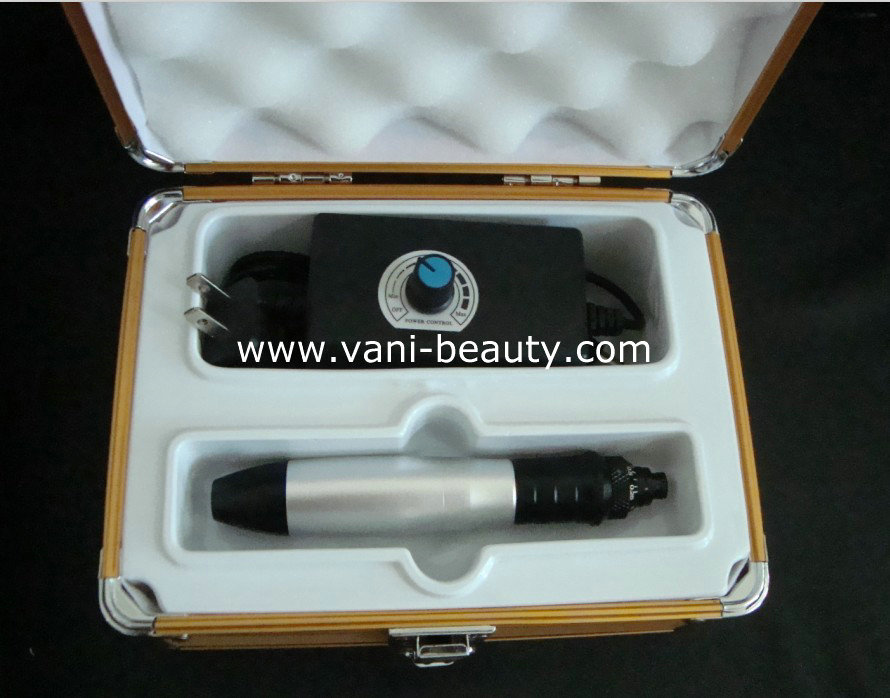 Changeable Heads Microneedle Injectable Collagen Derma Stamp, AU002