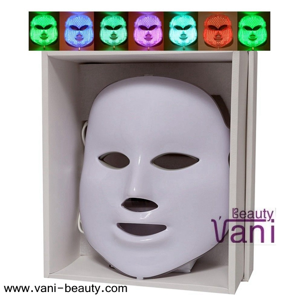 Skin Rejuvenation Photon Facial Mask Photodynamics PDT Therapy with Seven Color, PDT003
