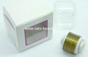 Yellow Micro Needling Derma Rolling Heads Pins for wholesale