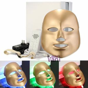 Gold PDT Mask Skin Care LED Light Photodynamic PDT Facial Mask